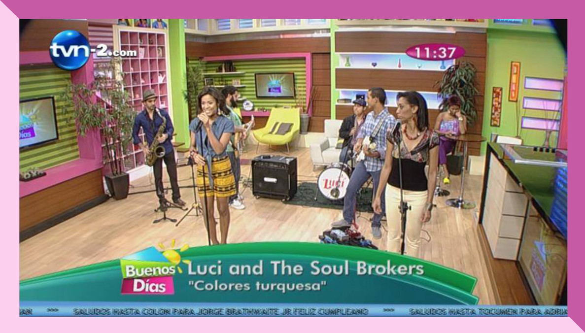 TVN morning TV show live performance.