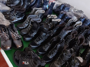 Winter Boots Distributed to Children in Poverty-Vanadzor-10-25-19