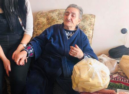 Our Team Visited Victoria Tatik - 2/4/2019 — in Charbakh, Yerevan, Armenia