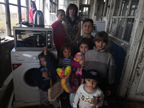 Our Visit to Family with 7 Children - Kakhakn Village - 4-18-19— inKakhakn, Geghark'Unik',