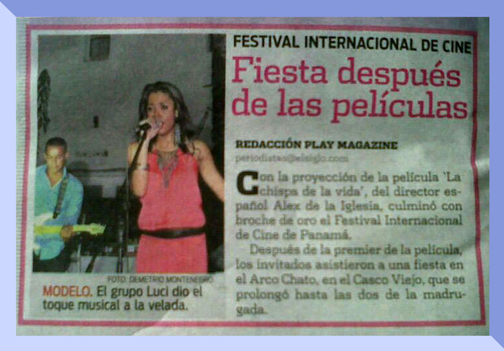 Performance on the first edition of IFF Panamá