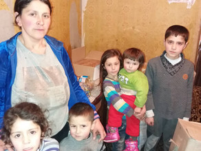 Visit to 6 Children Abandoned by their Father - Vanadzor - 4.3.19— inVanadzor. April 4,02019