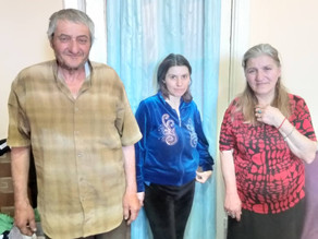 Food Delivered to Family whose Mother has Cancer -Gyumri - 6/7/19
