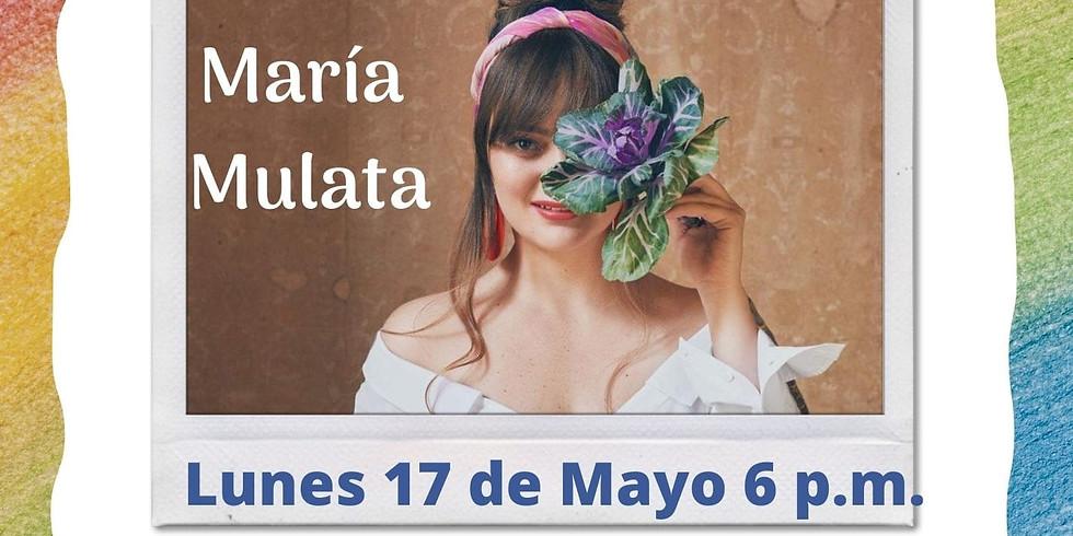 María Mulata en la Sala Colombia Canta