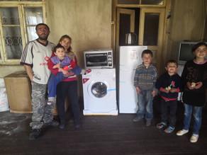 Our Visit to Kakhakn Village - Family w/ Sick Child - 4/16/19— inKakhakn, Geghark'Unik', A