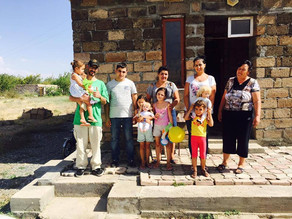 Visit to Ashtarak - Single Mother with 2 kids in Poverty -8/21/16 (THIS FAMILY NEEDS TO BE ADOPTED)