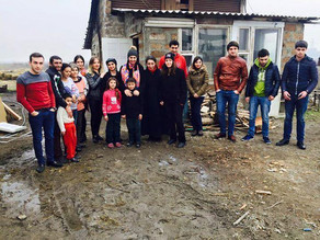 Family Living in a Cattle Barn in Darakert Village, Armenia - February 7, 2016