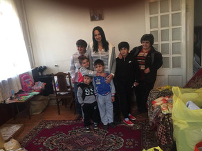 Visit to TWO Families in Gyumri, Armenia - 10/16/16