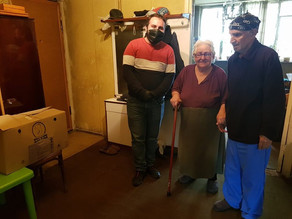 May 2020 - COVID-19 Food to Families and Elderly in Armenia