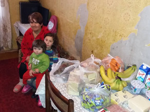 Visit to 6 Children Abandoned by their Father - Vanadzor - 4.3.19