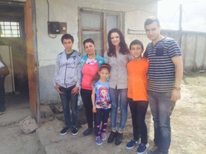 Visit to Family in Masis Living in an Abandoned Factory Building - March 27, 2016