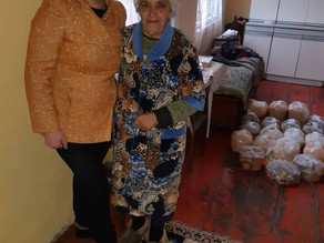 Visit to 27 Elderly in Poverty in Lori Province - 1/19/2020