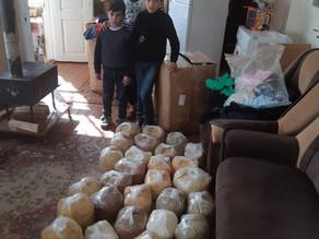 Visit To Anna and 3 Children in Aznvadzor, Lori - 2/19/2020