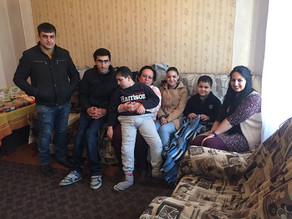 Visit to Karine and her sons in Artashat