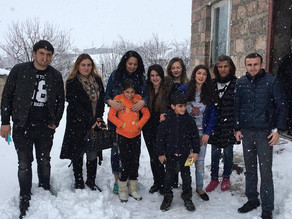Visit to Lily and Her Brother in Hrazdan.  March 20, 2016