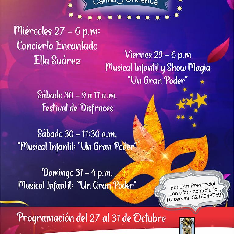 Octubre en tu Sala Colombia Canta