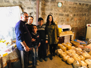 Aid Delivered to Family with Disabled Children - 11.12.19 — at Aragatsotn Province