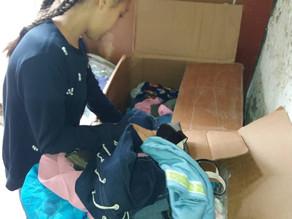 Visit to Single Mother in Aznvadzor Village, Lori- 9.15.19
