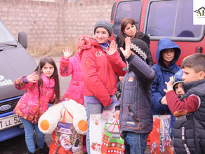 4th Annual Magical Christmas for Children Event - 12/15/19 — at Aladdin Kids Cafe, Yerevan, Armenia