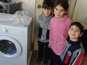 Visit to Family #3 in Aznvadzor Village - Lori Province- 1/27/20