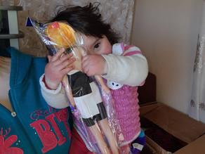 Visit to Family #1 in Aznvadzor Village - Lori Province-1/27/20