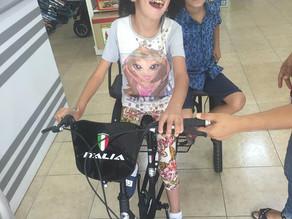 Liana Got her Special Bike!