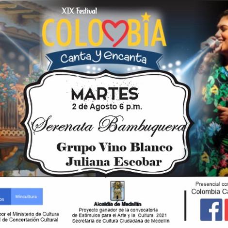Serenata Bambuquera Festival Colombia Canta