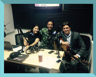 Interview on TVN Radio with Italian singer Didier Casnati from The Gyspy Queens.