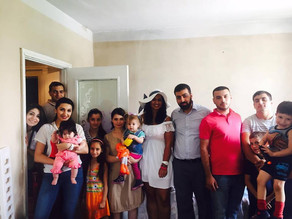 Visit to Abovyan - Family from Martakert with 7 kids -(This Family Needs to be Adopted)