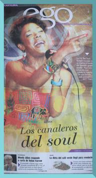 'Los Canaleros del Soul' - La Estrella de Panamá.
