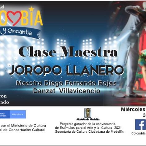 Clase Maestra:  Joropo Llanero