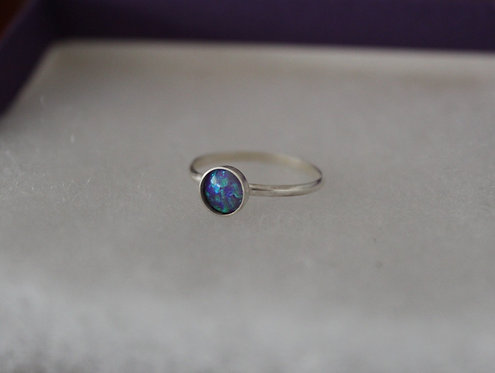 Lavender Opal Ring