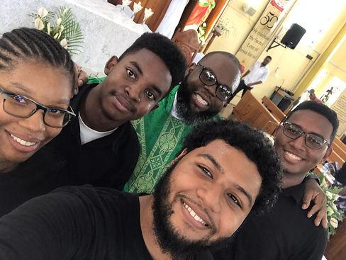 Taken after Fr. Alexander's 1st Mass at