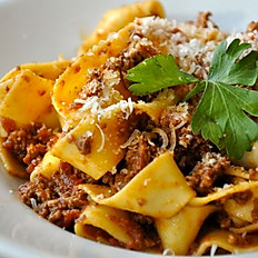 Pappardelle Bolognese Sauce