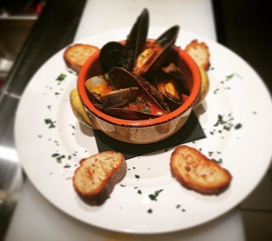 Zuppa Vongole e Cozze  Mussels and Clams