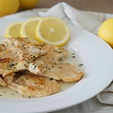 Chicken Lemon Scaloppine