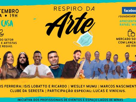 Live solidária em prol aos profissionais de eventos e artistas de São João del-Rei e região: