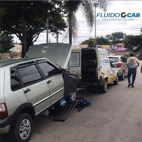 Troca de óleo delivery linha Fiat Fire 1.0 ou 1.4 - Fluidocar Delivery
