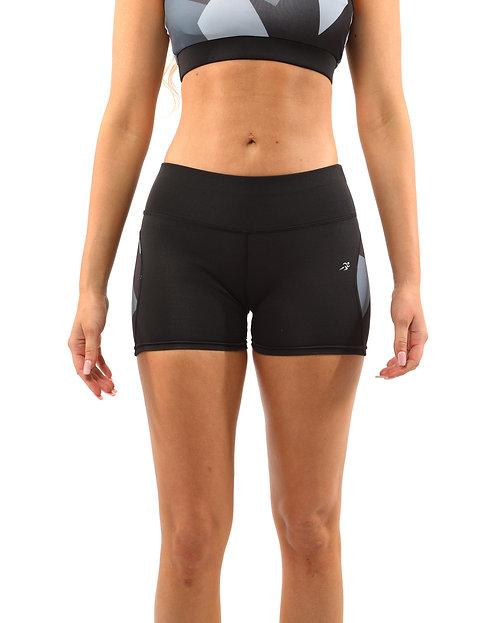 Bondi Shorts - Black/Grey