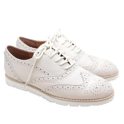 Oxford Shoes (White)
