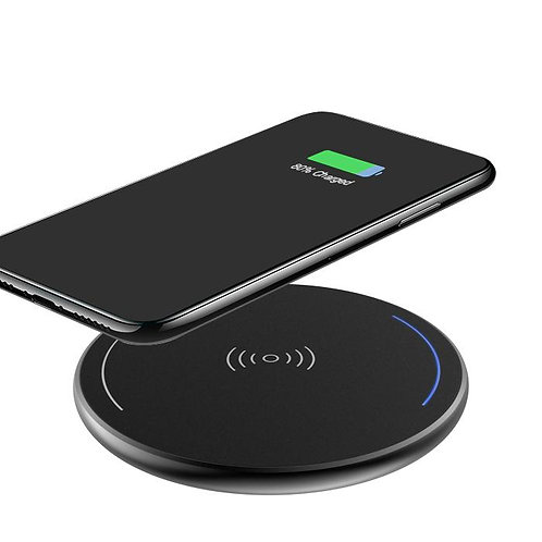 Fast Charging Wireless Phone Charger - Black