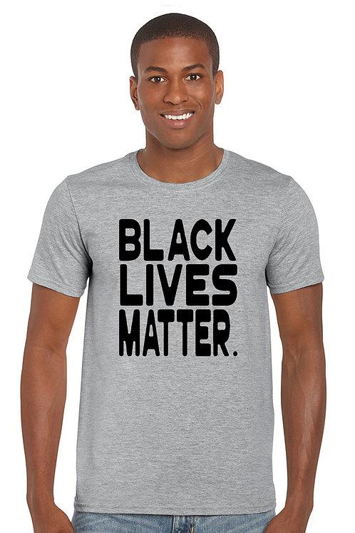 Men's T Shirt Black Lives Matter Short Sleeve Tee