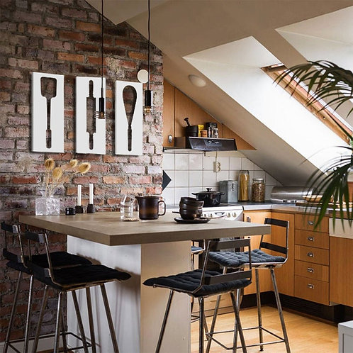 3 Kitchen Wall Decors Bundle V.2