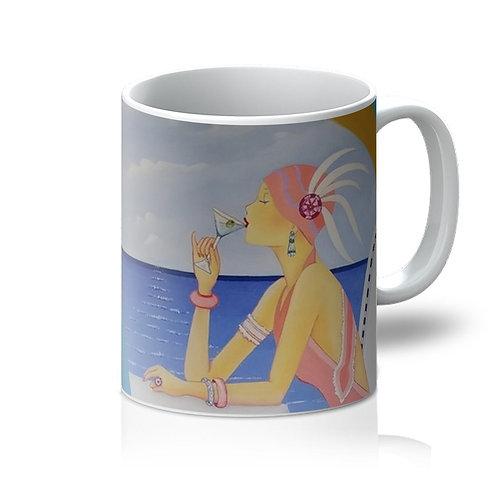 Art Deco Cruising Women Mug