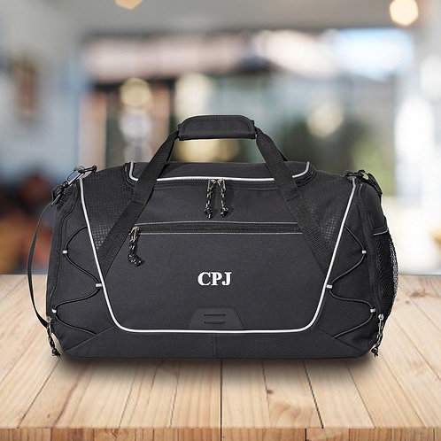 Personalized Duffle and Gym Bag - Weekend Bag