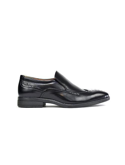 Slip on Brogue Shoes Black