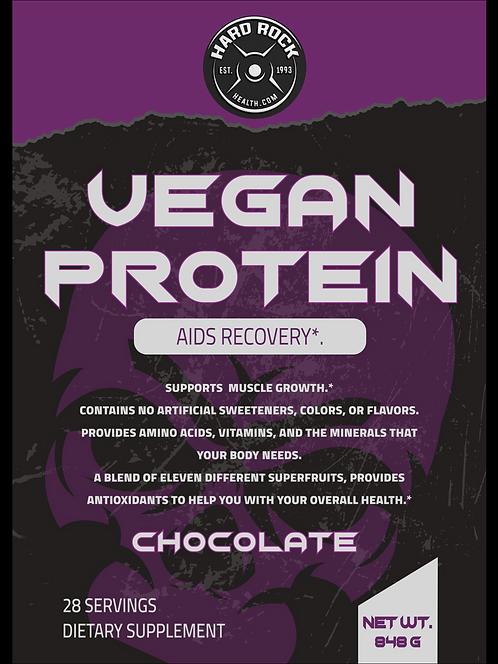 Hard Rock Health 2lb Vegan Protein Chocolate