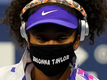 The Three Grand Slam Winner Naomi Osaka Honoured Black Victims In The US Open