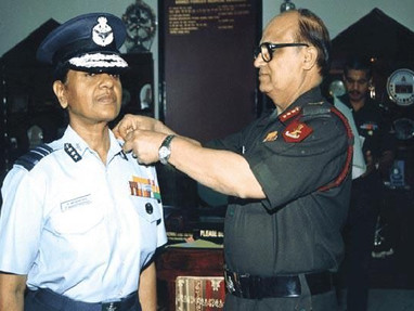"""""""When you wear the uniform you are an officer and not a man or a woman"""" - Dr Padmavathy Bandopadhyay"""
