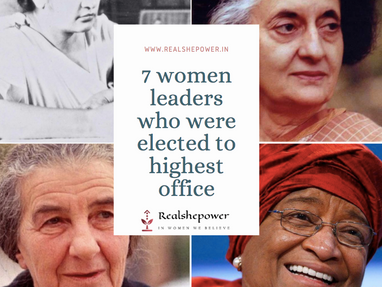 7 Women Leaders Who Were Elected To The Highest Office